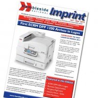 Imprint Newsletter - January to March 2013