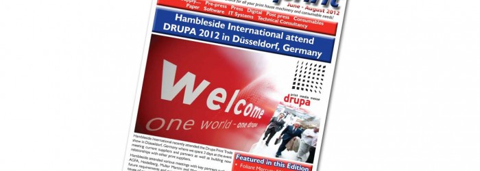 Imprint Newsletter July to August 2012