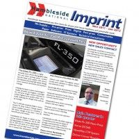 Imprint Newsletter - November 2011 to January 2012