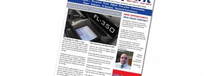 Imprint Newsletter - November 2011 to January 2012